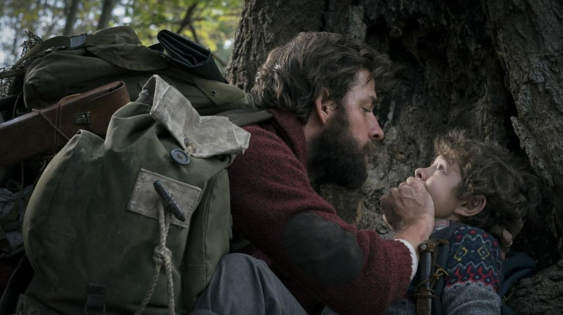 "Photo of إعلان فيلم ""A Quiet Place"